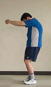 ④肩甲骨開き(左右)